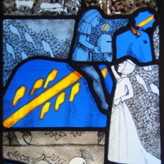 Godiva window 3 detail
