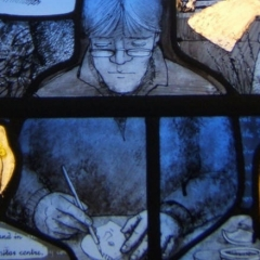 Godiva window 4 detail